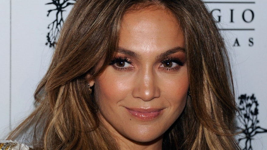 "LAS VEGAS, NV - MAY 27:  Singer/actress Jennifer Lopez arrives at Hyde Bellagio at the Bellagio to celebrate the launch of her new single, ""Goin' In"" May 27, 2012 in Las Vegas, Nevada.  (Photo by Ethan Miller/Getty Images for Hyde Bellagio)"