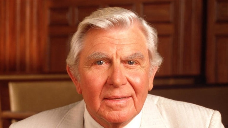 "Andy Griffith as ""Matlock"""