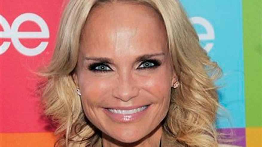 "Aug. 15, 2011: In this file photo, actress and singer Kristin Chenoweth poses before the ""Glee Sing-A-Long"" event at Santa Monica High School in Santa Monica, Calif."
