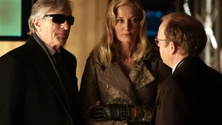 "This film image released by Millennium Entertainment shows, from left, Robert De Niro, Joely Richardson and Toby Jones in a scene from ""Red Lights."" (AP Photo/Millennium Entertainment)"