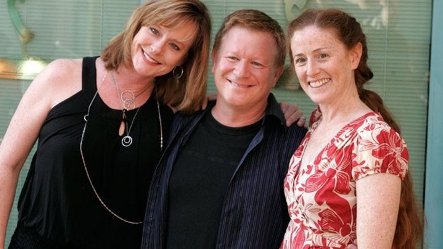 "Cast members from ""The Waltons"". From L to R: Mary Beth McDonough, Eric Scott and Kami Cotler."