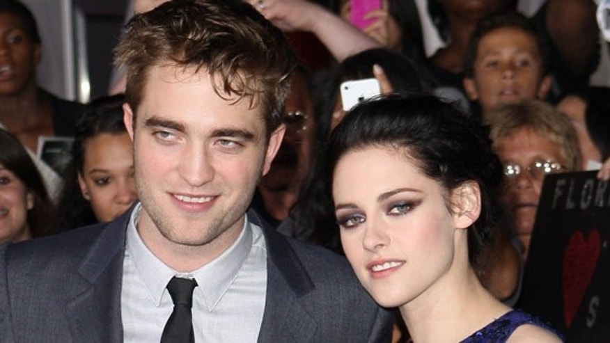 Robert Pattinson and Kristen Stewart, in happier times.