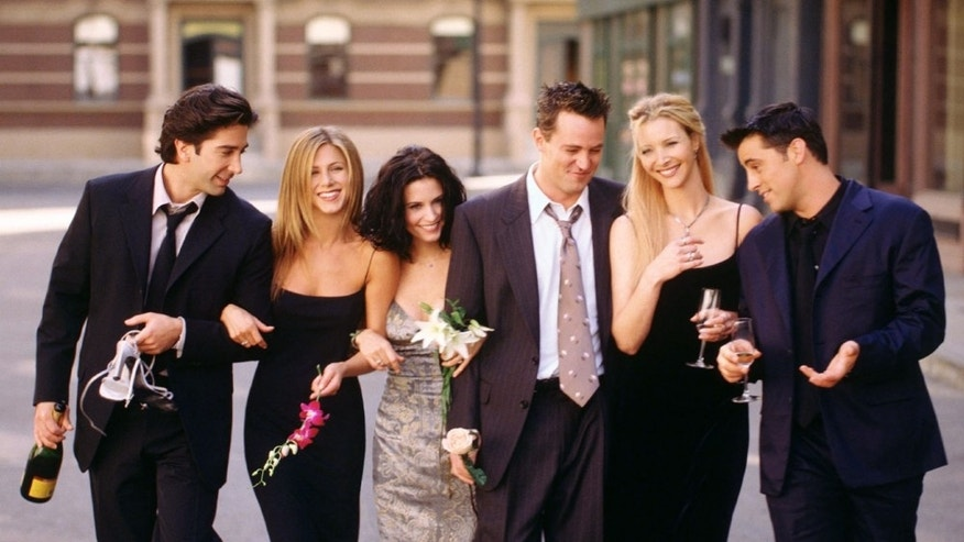 The cast of 'Friends.'