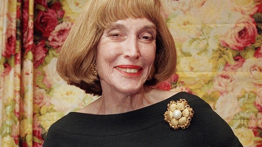 FILE: Helen Gurley Brown in 1997. The longtime editor of Cosmopolitan magazine died Monday at 90 years old.