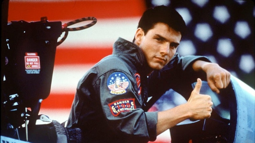 Tom Cruise in 'Top Gun.' (Paramount)
