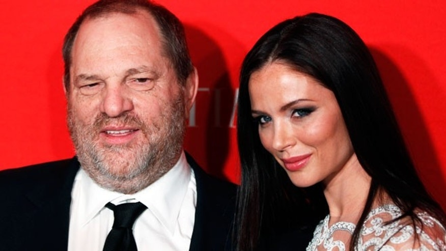Harvey Weinstein and fashion designer wife Georgina Chapman.