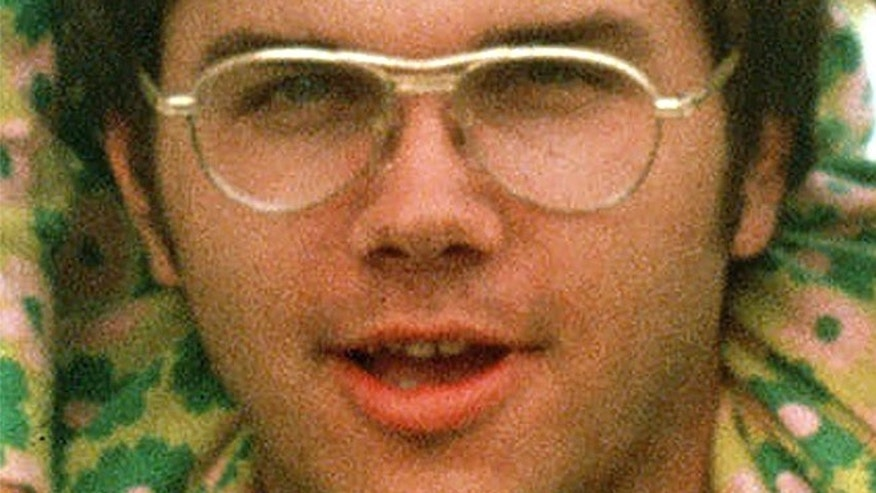 FILE 1975: Mark David Chapman is seen at Fort Chaffee near Fort Smith, Ark.