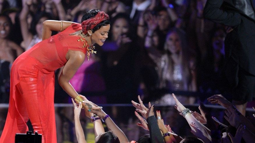 Sept. 6, 2012: Rihanna performs at the MTV Video Music Awards in Los Angeles.