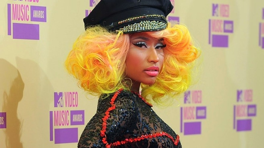 Sept. 6, 2012: Nicki Minaj arrives at the MTV Video Music Awards in Los Angeles.