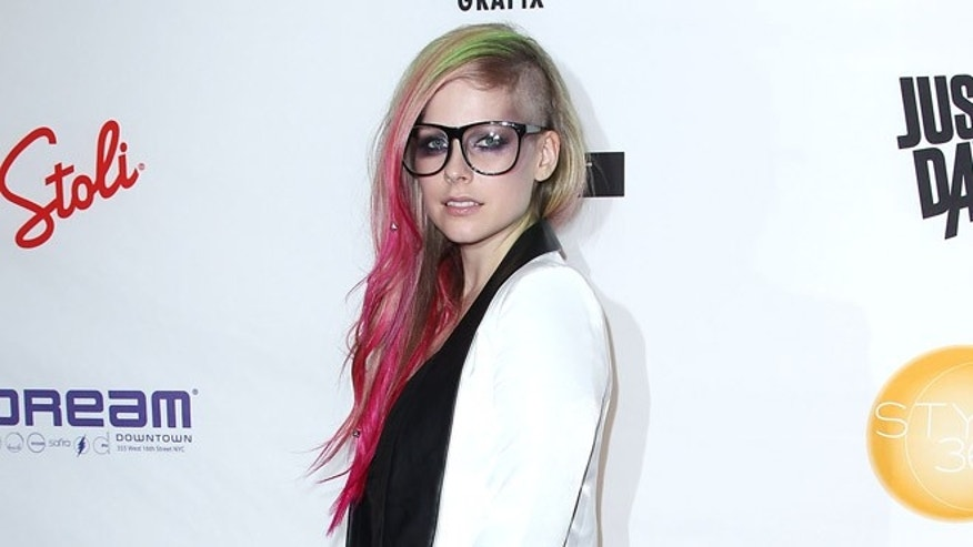 Sept. 10, 2012: Avril Lavigne at the showing of her Abbey Dawn by Avril Lavigne Spring 2013 collection during Fashion Week in New York.
