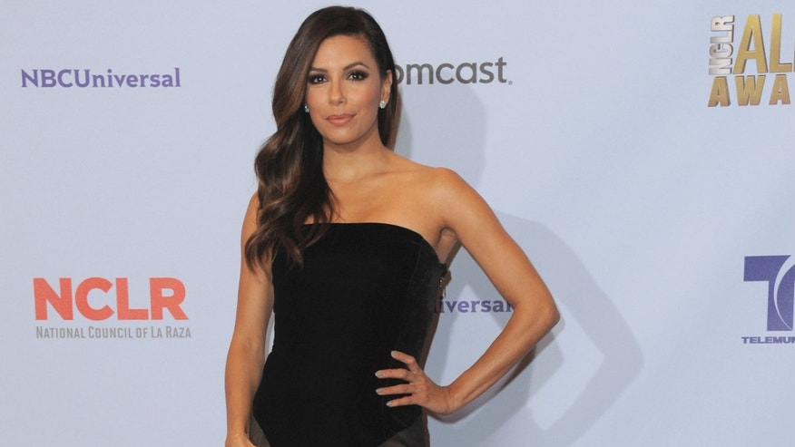Sept. 16, 2012: Eva Longoria poses backstage at the ALMA Awards on Sunday in Pasadena, Calif.