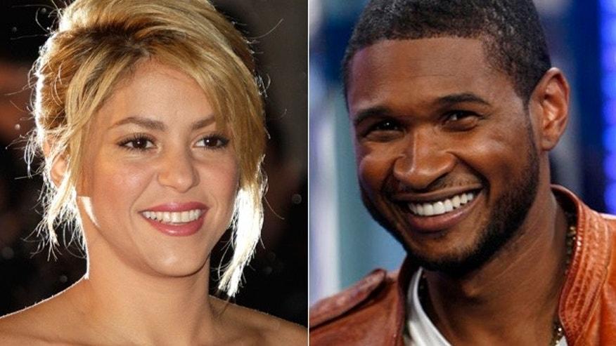 Shakira, left and Usher will be new judges on NBC's The Voice.