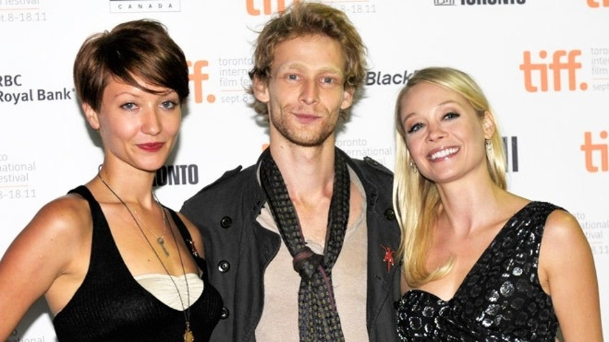 "Gretchen Lodge, Johnny Lewis and Alexandra Holden at the screening of the film ""Lovely Molly"" at the 2011 Toronto International Film Festival."