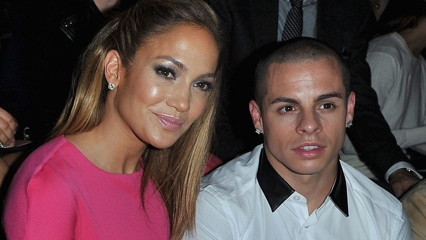 Oct. 2, 2012: Jennifer Lopez and Casper Smart attend the Valentino Spring / Summer 2013 show as part of Paris Fashion Week at Espace Ephemere Tuileries in Paris, France.