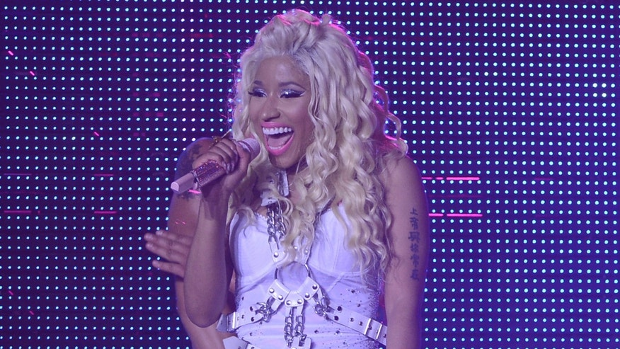NEW YORK, NY - AUGUST 14:  Nicki Minaj performs at Pepsi Presents Nicki Minaj's Pink Friday Tour at Roseland on August 14, 2012 in New York City.  (Photo by Larry Busacca/Getty Images for Pepsi)