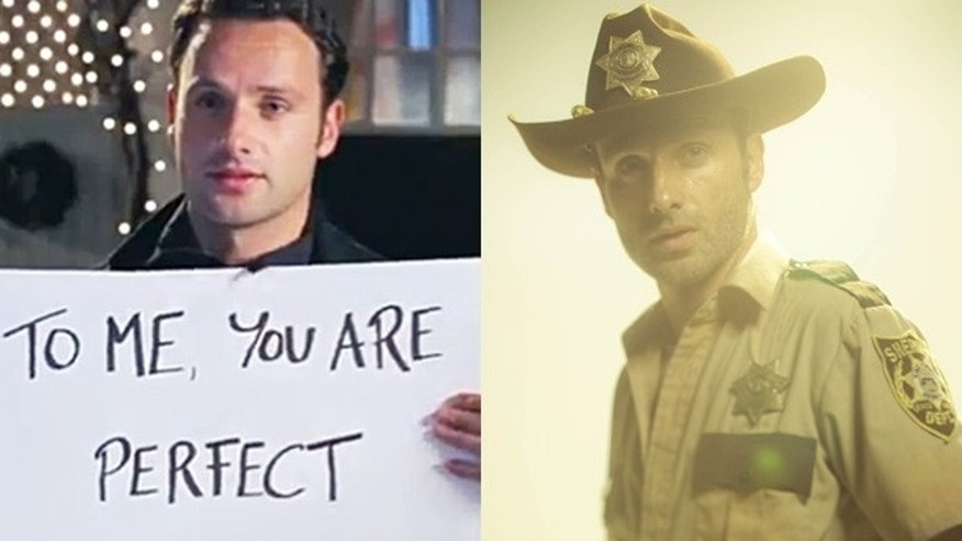 Andrew Lincoln Then & Now.