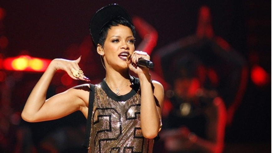 Sept. 21, 2012: Rihanna performs during the 2012 iHeart Radio Music Festival at the MGM Grand Garden Arena in Las Vegas, Nevada.