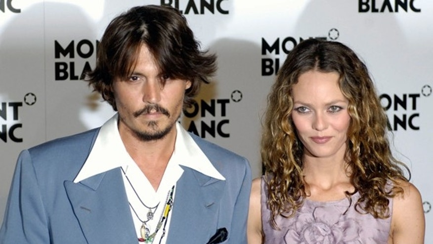 Johnny Depp and Vanessa Paradis (REUTERS)