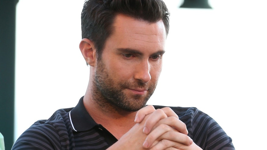 "LOS ANGELES, CA - AUGUST 12:  The Voice's Adam Levine attends the NBCUniversal's ""The Voice"" Press Junket and cocktail reception on August 12, 2012 in Los Angeles, California.  (Photo by Christopher Polk/Getty Images for NBCUniversal)"