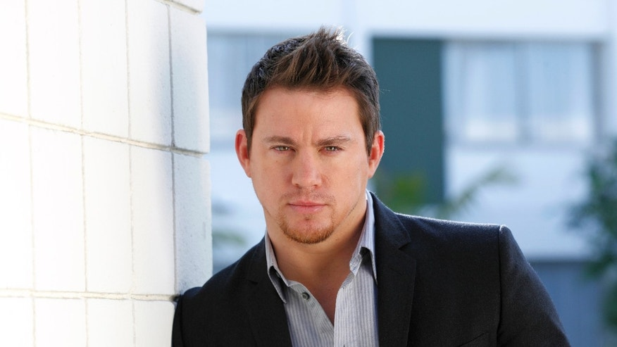 Channing Tatum poses for a promotional shot in Beverly Hills.