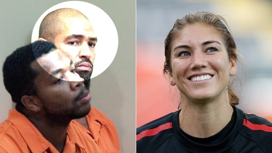 Jerramy Stevens, highlighted, and Hope Solo reportedly married following his arrest on suspicion of assaulting her.