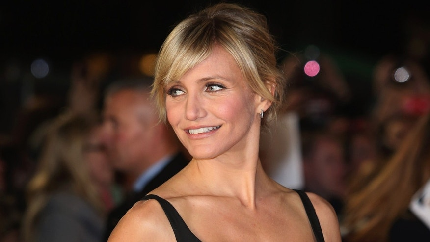"Nov. 7, 2012: Actress Cameron Diaz attends the World Premiere of ""Gambit"" at Empire Leicester Square in London, England."