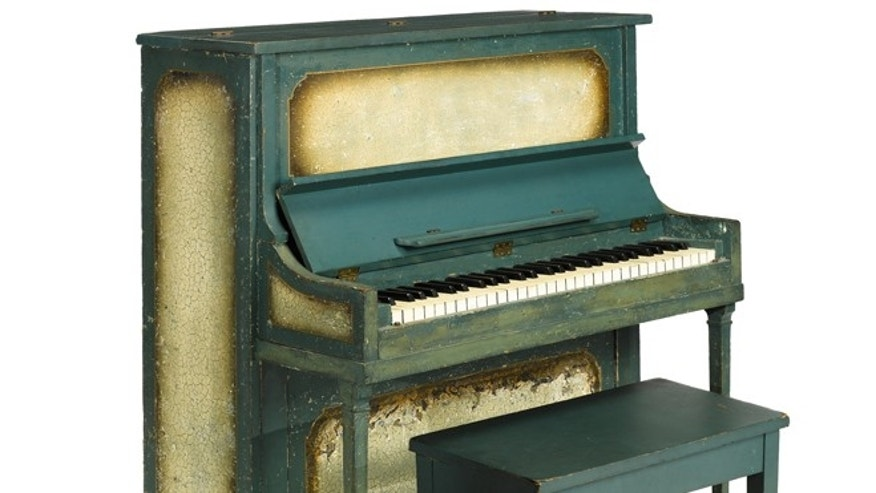 "The piano from the movie ""Casablanca."""