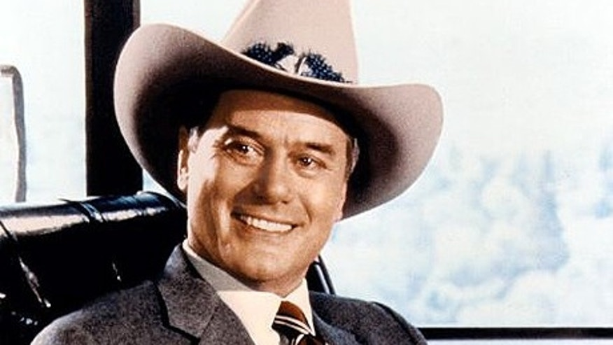 Larry Hagman on 'Dallas.' (ABC)