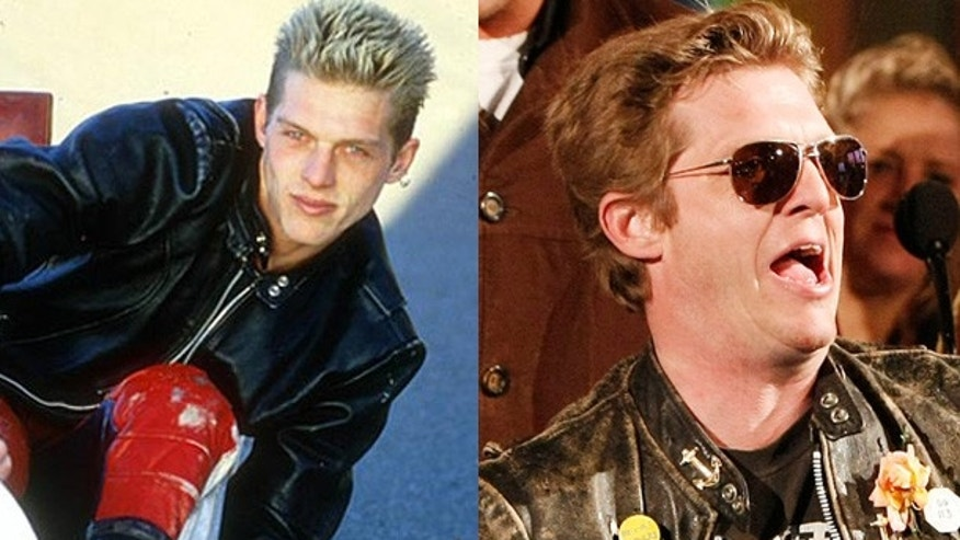 "David ""Puck"" Rainey, ""The Real World: San Francisco"" in 1994 and today."