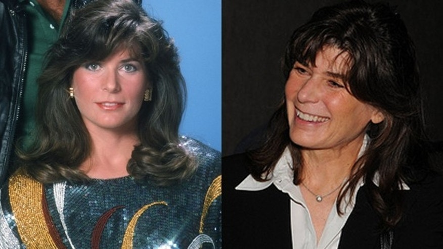 "Patricia McPherson as Bonnie Barstow in ""Knight Rider"" and now."