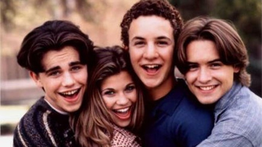 "The cast of ""Boy Meets World."""