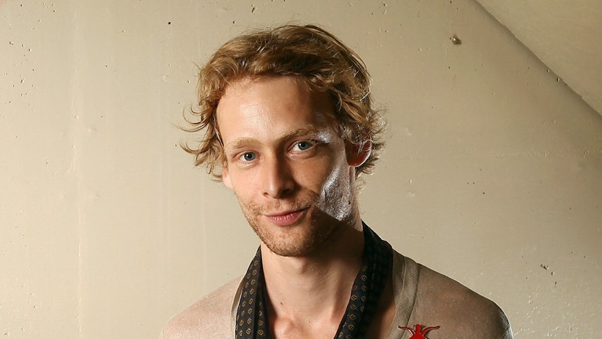 This file photo shows actor Johnny Lewis posing for a portrait during the 36th Toronto International Film Festival in Toronto, Canada.