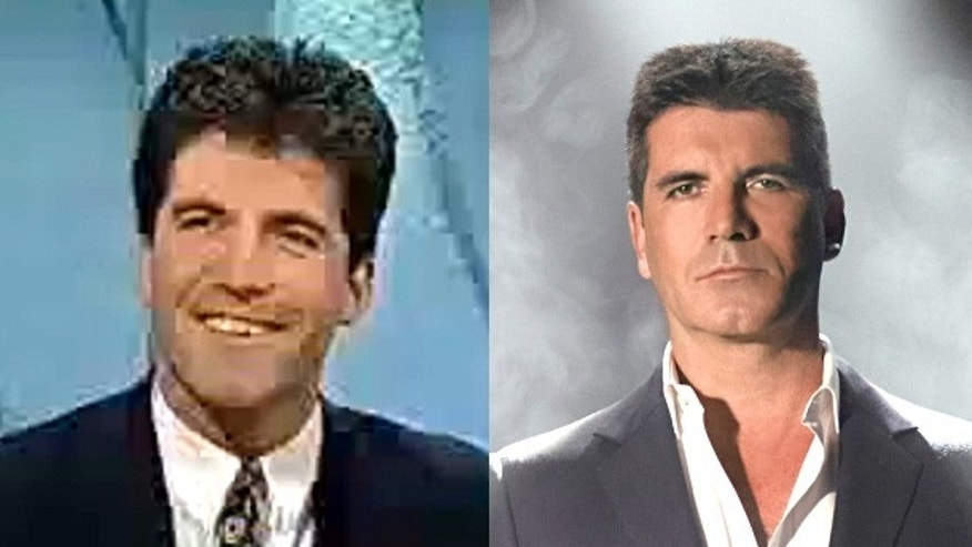 Simon Cowell before the fame.