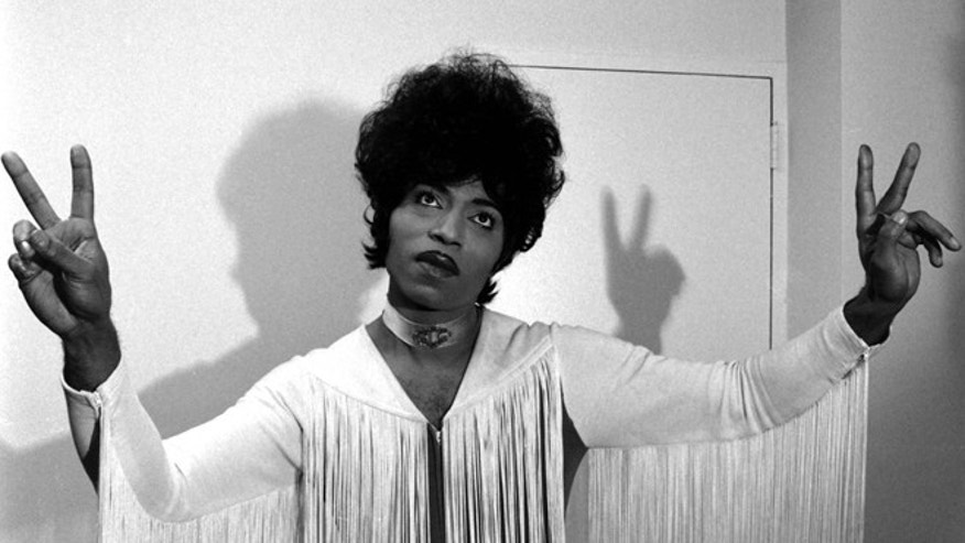 Little Richard poses in 1971.