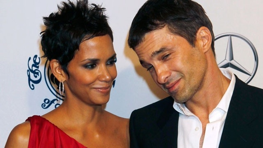 Halle Berry is reportedly engaged to her boyfriend Olivier Martinez (REUTERS)