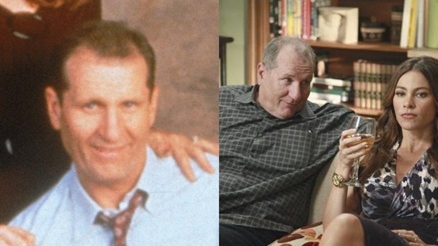 Ed O'Neil then and now.