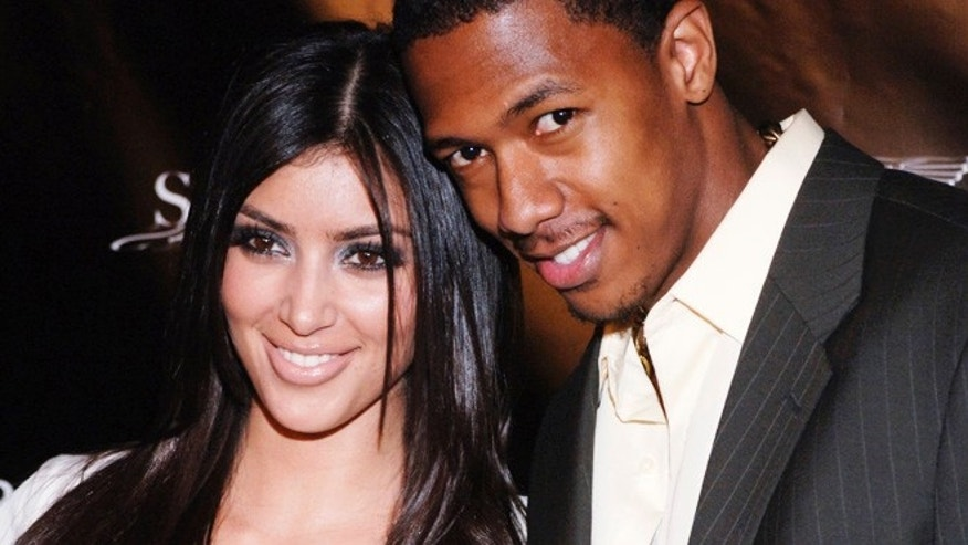 Nick Cannon and Kim Kardashian in 2006.