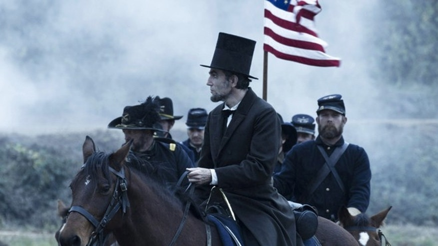 "Daniel Day Lewis in ""Lincoln."""