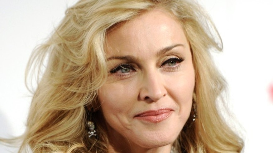 April 12, 2012: In this file photo, Madonna arrives at Macy's Herald Square in New York.
