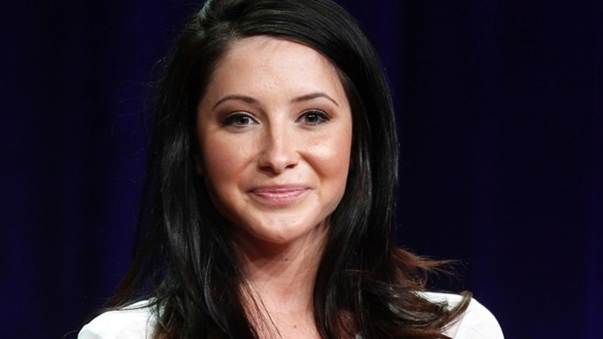 Bristol Palin speaks during a panel discussion at the Television Critics Association Summer press tour in Beverly Hills, California on July 27, 2012.