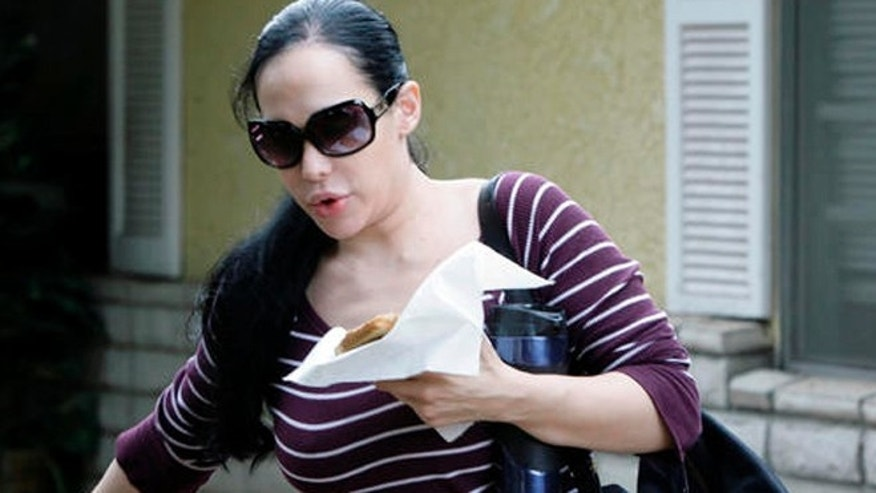 Nadya Suleman, mother of octuplets and 6 other children.