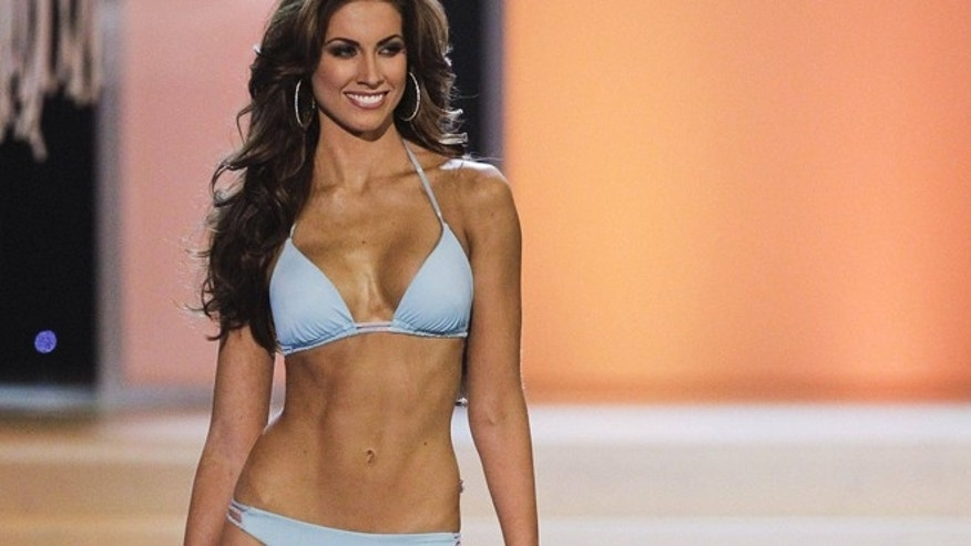Miss Alabama Katherine Webb is shown.