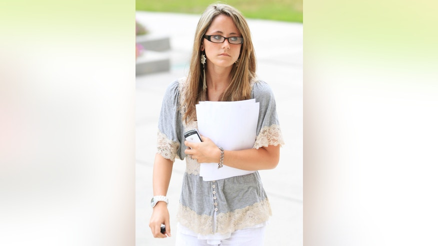"""Teen Mom 2"" star Jenelle Evans."