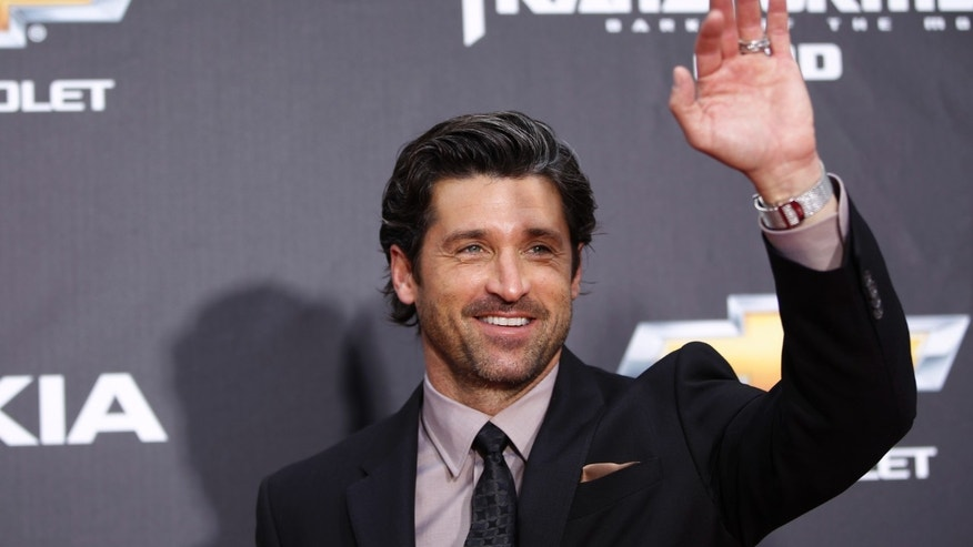 "Patrick Dempsey arrives for the premiere of ""Transformers: Dark of The Moon"" in New York on June 28, 2011."
