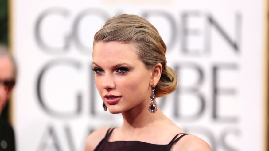 Taylor Swift at the 70th annual Golden Globe Awards in Beverly Hills, Calif. on Jan. 13, 2013.