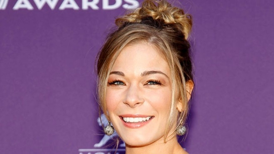 April 1, 2012: This file photo shows country singer and actess LeAnn Rimes arriving at the 47th Annual Academy of Country Music Awards in Las Vegas.