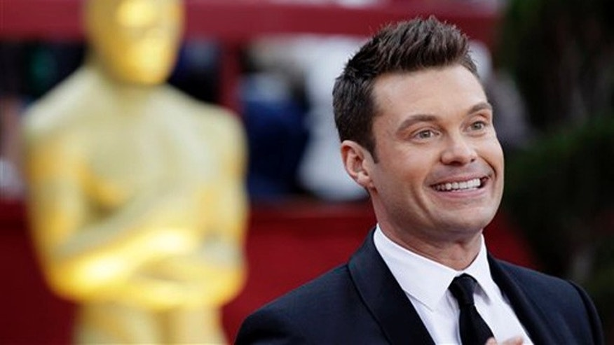 Ryan Seacrest arrives at the 82nd Academy Awards Sunday,  March 7, 2010, in the Hollywood section of Los Angeles. (AP Photo/Amy Sancetta)