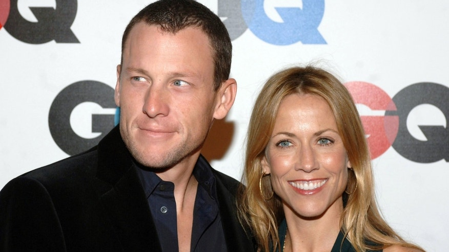Lance Armstrong and Sheryl Crow are seen together in this 2005 file photo. The two dated from 2003 to 2006.