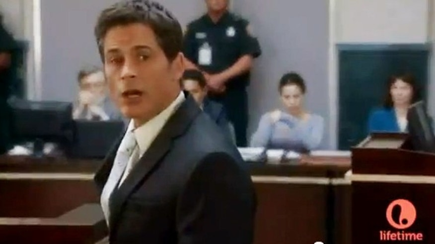 "Rob Lowe in the Lifetime film ""Prosecuting Casey Anthony."""
