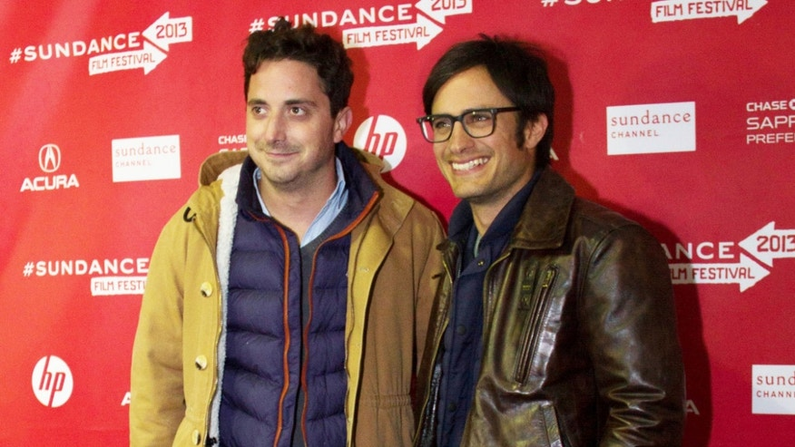 Jan. 20, 2013: Pablo Lorrain (L) and Gael Garcia Bernal (R) at the Sundance Film Festival.